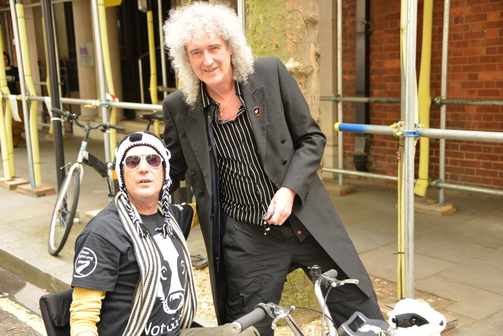 Dr Brian May - Rock Star, Scientist and genuine source of encouragement for wildife lovers copyright Gordon McGlone PhotoNatura