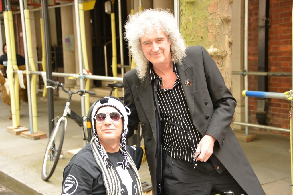 Dr Brian May CBE, Rock Star, Scientist and man of the people copyright Gordon McGlone PhotoNatura